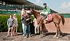 E Street Bourbon winning and at Delaware Park on 7/18/13