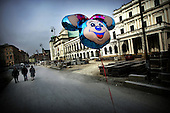 Warsaw 05.04.2008 Poland<br /> Historical building on Krakowskie Przedmiescie street in Warsaw<br /> (Photo by Adam Lach / Napo Images for Newsweek Polska)<br /> <br /> Historyczne budynki na Krakowskim Przedmiesciu<br /> (Fot Adam Lach / Napo Images dla Newsweek Polska)