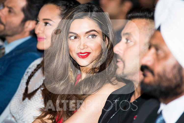 Indian model and actress Deepika Padukone during the presentation of the IIFA Awards in Madrid. June 23, 2016. (ALTERPHOTOS/BorjaB.Hojas)