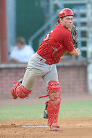 Cody Stanley during a game against the Elizabethton Twins at Joe O'Brien Stadium Elizabethton, TN August 8, 2010. Johnson City won the game 7-4.