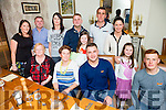 Jonathan Foley from Ballyfinnane celebrating his 21st with family and friends at Bella Bia's  on Thursday night.