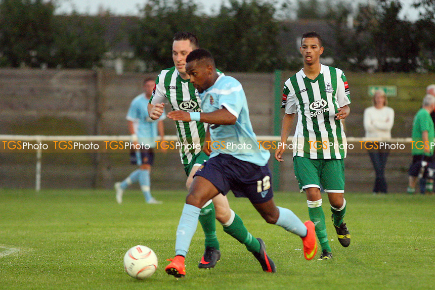 Great Wakering Rovers vs Dagenham and Redbridge, pre season friendly - 23/07/14 - MANDATORY CREDIT: Dave Simpson/TGSPHOTO - Self billing applies where appropriate - 0845 094 6026 - contact@tgsphoto.co.uk - NO UNPAID USE