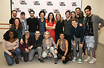 """The cast and creative team attend the Photo Call for the MCC Theater's World Premiere production of """"Alice by Heart"""" at the New 42nd Street Studios on December 17, 2018 in New York City."""