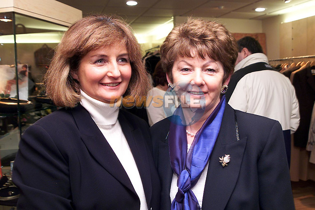 Margaret Fahy and Rita Hughes at the opening of Unique Lady in Bolton Street..Picture Paul Mohan Newsfile