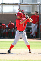 Andrew Heid - Los Angeles Angels - 2010 Instructional League.Photo by:  Bill Mitchell/Four Seam Images..