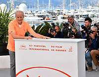 """CANNES, FRANCE. May 15, 2019: Bill Murray at the photocall for """"The Dead Don't Die"""" at the 72nd Festival de Cannes.<br /> Picture: Paul Smith / Featureflash"""