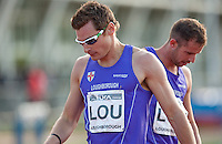 17 MAY 2009 - LOUGHBOROUGH,GBR - David Gillick - Mens 4 x 400m Relay - Loughborough International Athletics .(PHOTO (C) NIGEL FARROW)