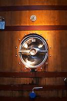 Wooden fermentation tank Bodega Bouza Winery, Canelones, Montevideo, Uruguay, South America