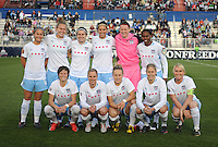 Chicago Red Stars Starting Eleven.  Chicago Red Stars tied Washington Freedom 1-1 at The Maryland SoccerPlex,  Saturday April 11, 2009.