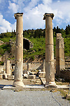 Columns At Ephesus