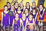 Tralee Imperials under 10 basketball team who took part in the basketball blitz at The Community Centre, Ballybunion on Sunday were front l-r. Megan Hunt, Rachel Bowler, Anna Ni? Lionaigh,  Middle l-r. Lauren Lenihan, Rebecca Ryan, Sarah Kilgannion, Ericka O'Sullivan and Cherlie Wall.  back l-r. Rachel McEniery, jade Smullen, Meadh Buckley, Bla?thnaid O'Connor, Hannah Lenihan and Avril Fitzgerald..