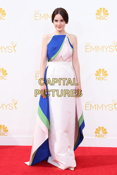 LOS ANGELES, CA - AUGUST 25: Michelle Dockery at The 66th Primetime Emmy Awards held at Nokia Theater L.A. LIVE in Los Angeles, CA on August 25, 2014.  <br /> CAP/MPI/mpi99<br /> &copy;mpi99/MediaPunch/Capital Pictures