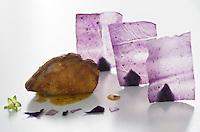 """Europe/Espagne/Pays Basque/Saint-Sébastien:  Pigeon bleu """"Pichon bien azulon recette  du """" Restaurant """"Arzak"""""""