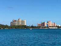 Hotelkomplex Atlantis in Nassau, Bahamas - 26.01.2020: Nassau