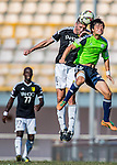 during the HKFA Premier League between Wofoo Tai Po vs Sun Pegasus at the Tai Po Sports Ground on 22 November 2014 in Hong Kong, China. Photo by Aitor Alcalde / Power Sport Images