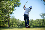 SUGAR GROVE, IL - MAY 29: Giovanni Tadiotto of the University of Illinois tees off during the Division I Men's Golf Individual Championship held at Rich Harvest Farms on May 29, 2017 in Sugar Grove, Illinois. (Photo by Jamie Schwaberow/NCAA Photos via Getty Images)