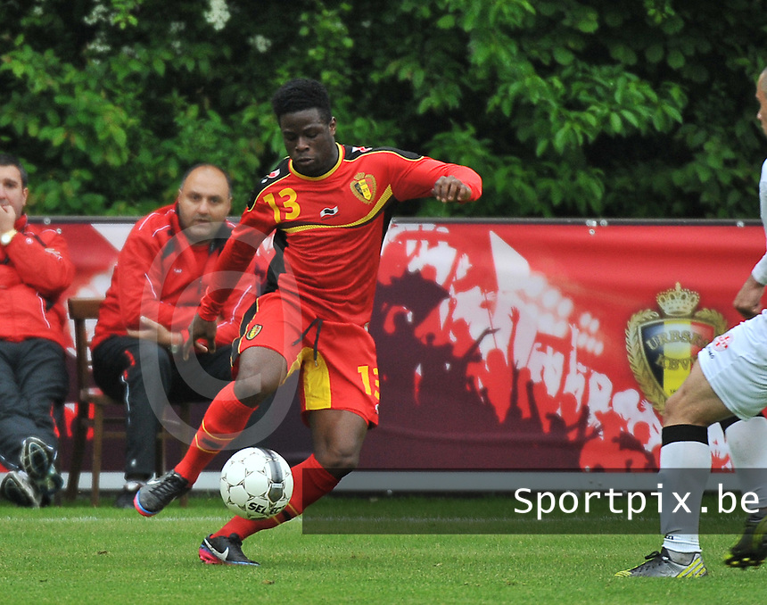 Georgia U19 - Belgium U19 : Jordan Kevin Atheba<br /> foto DAVID CATRY / Nikonpro.be