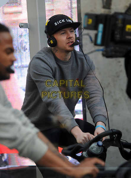 LONDON, UNITED KINGDOM - MARCH 17: Professor Green (Stephen Paul Manderson) at BBC Radio 1 studios for Sport Relief 'Radio Around The World' on March 17, 2014 in London, England.<br /> CAP/AOU<br /> &copy;AOU/Capital Pictures