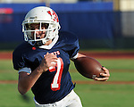 Middle School Football action between St. Martin's and Haynes.  The two teams battled to a 6-6 tie at Tony Porter Field on Sept. 17,2009.