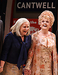 Candice Bergen & Angela Lansbury.during the Broadway Opening Night Performance Curtain Call for 'Gore Vidal's The Best Man' at the Gerald Schoenfeld Theatre in New York City on 4/1/2012