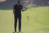 Henrik Stenson (SWE) on the 15th fairway during the final round of the DP World Tour Championship, Jumeirah Golf Estates, Dubai, United Arab Emirates. 18/11/2018<br /> Picture: Golffile | Fran Caffrey<br /> <br /> <br /> All photo usage must carry mandatory copyright credit (© Golffile | Fran Caffrey)