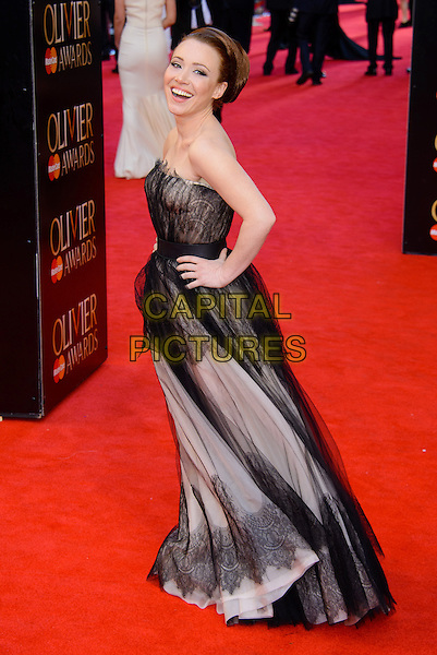 LONDON, ENGLAND - APRIL 13: Daisy Lewis attends the Olivier Awards 2014 at the Royal Opera House on April 13, 2014 in London, England. <br /> CAP/CJ<br /> &copy;Chris Joseph/Capital Pictures
