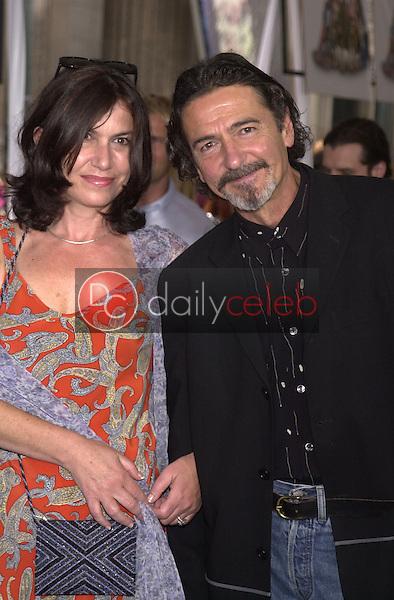 Don Novello and Patty Vincente