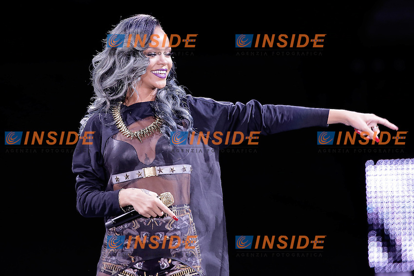 Rihanna in concerto<br /> Diamonds World Tour<br /> 20/07/2013 stadio di Lille<br /> Foto Stephane Vansteenkiste / Insidefoto/ Panoramic