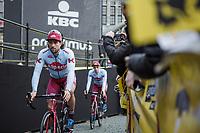 Marco Haller (AUT/Katusha Alpecin) pre race<br /> <br /> 103rd Ronde van Vlaanderen 2019<br /> One day race from Antwerp to Oudenaarde (BEL/270km)<br /> <br /> <br /> ©kramon
