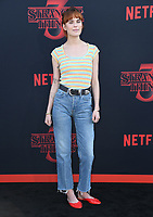 "28 June 2019 - Santa Monica, California - Tallulah Willis. ""Stranger Things 3"" LA Premiere held at Santa Monica High School. <br /> CAP/ADM/BT<br /> ©BT/ADM/Capital Pictures"