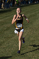 Mizzou junior Jamie Kempfer runs to a fifth-place finish in 20:17 in the Women's 6k at the 2016 NCAA Division I Cross Country Midewest Regional in Iowa City, Ia. Friday, November 11, 2016. Kempfer was one of four Tigers to place in the top 25 and receive All-Region honors, helping Mizzou to the team victory and their first NCAA National Championship Meet since 2004.