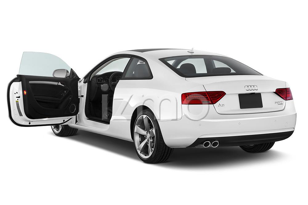 Car images close up view of 2014 Audi A5 Premium Quattro 2 Door Coupe doors