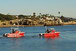 harbor patrol in Newport Harbor