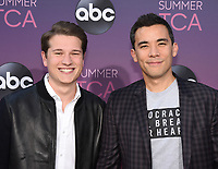05 August 2019 - West Hollywood, California - Conrad Ricamora, Josh Cockream . ABC's TCA Summer Press Tour Carpet Event held at Soho House.   <br /> CAP/ADM/BB<br /> ©BB/ADM/Capital Pictures