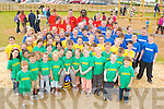 FUN AND GAMES: Enjoying the Banna Summer Camp in Banna Leisure Centre on Friday were the Lions, Tigers and Cheetahs with camp leaders..