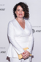 "NEW YORK CITY - APRIL 20: Davina Lamont, Hair, Makeup and Prosthetic Designer attends National Geographic's ""Genius: Picasso"" red carpet event at the Tribeca Film Festival at the BMCC Tribeca Performing Arts Center on April 20, 2018 in New York City. (Photo by Anthony Behar/National Geographic/PictureGroup)"