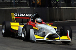 DURBAN - 24 February 2007 - Nico Huelkenberg of Team Germany taking a corner on his way to setting the fastest fastest time during the qualifying round on Saturday at the A1 Grand Prix in Durban..Picture: Giordano Stolley/ Allied Picture Press