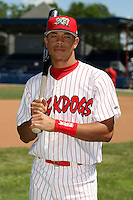 June 30th, 2007:  Tommy Pham of the Batavia Muckdogs, Short-Season Class-A affiliate of the St. Louis Cardinals at Dwyer Stadium in Batavia, NY.  Photo by:  Mike Janes/Four Seam Images