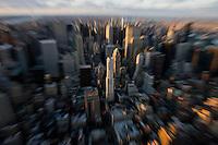 New York, Usa, Giugno 2007. Una panoramica dei grattacieli di Manhattan