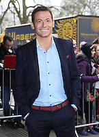 Joe Swash arriving for the TRIC Awards 2014, at Grosvenor House Hotel, London. 11/03/2014 Picture by: Alexandra Glen / Featureflash
