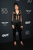 HOLLYWOOD, CA - AUGUST 10: Natalie Morales, at OUT Magazine's Inaugural POWER 50 Gala &amp; Awards Presentation at the Goya Studios in Los Angeles, California on August 10, 2017.<br /> CAP/MPIFS<br /> &copy;MPIFS/Capital Pictures
