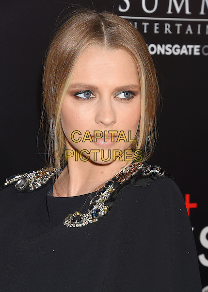 BEVERLY HILLS, CA - OCTOBER 24: Actress Teresa Palmer attends the screening of Summit Entertainment's 'Hacksaw Ridge' at Samuel Goldwyn Theater on October 24, 2016 in Beverly Hills, California.<br /> CAP/ROT/TM<br /> &copy;TM/ROT/Capital Pictures