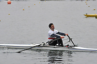 030 BradfordonAvon SEN.1x..Marlow Regatta Committee Thames Valley Trial Head. 1900m at Dorney Lake/Eton College Rowing Centre, Dorney, Buckinghamshire. Sunday 29 January 2012. Run over three divisions.
