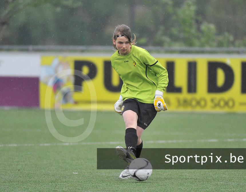 Lierse U16 - Standard de Liege U16 : Silke Baccarne.foto DAVID CATRY / Nikonpro.be