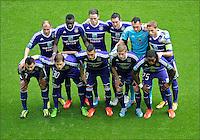 equipe - team - anderlecht. .Anderlecht Campione del Belgio .Football Calcio 2012/2013.Jupiter League Belgio .Foto Insidefoto .ITALY ONLY