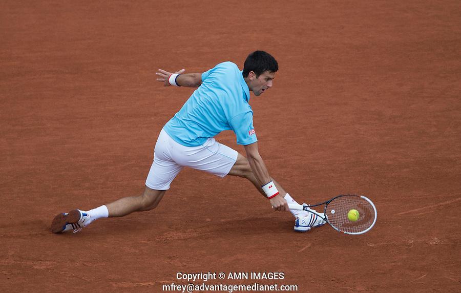 NOVAK DJOKOVIC (SRB)<br /> <br /> Tennis - French Open 2014 -  Toland Garros - Paris -  ATP-WTA - ITF - 2014  - France -  26 May 2014. <br /> <br /> &copy; AMN IMAGES