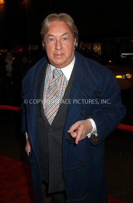 Arnold Scassi arrives at the special screening of TNT's 'The Goodbye Girl' in New York City. January 12 2004. Please byline: AJ SOKALNER/NY Photo Press.   ..*PAY-PER-USE*      ....NY Photo Press:  ..phone (646) 267-6913;   ..e-mail: info@nyphotopress.com