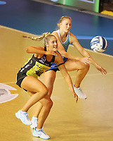 Action from the ANZ Championship netball match between Northern Mystics and Central Pulse at the Auckland Netball Centre in Auckland, New Zealand on Saturday 18 July 2020. Photo: Simon Watts / bwmedia.co.nz