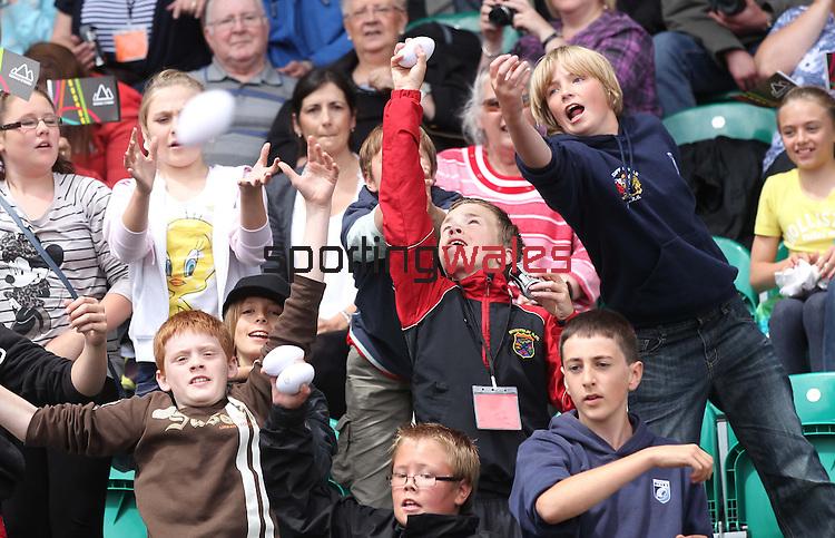 Gemau Cymru.Leckwith Stadium.08.07.11.©Steve Pope