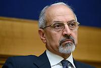Roma, 22 Maggio 2017<br /> Feisal Al Mohamad dell&rsquo;Associazione Siria libera e democratica.<br /> Conferenza stampa sui risultati delle elezioni in Iran del 19 Maggio.